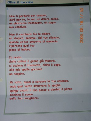 Lafiocavenmola Poesia Per Un Giorno Di Pioggia Ved
